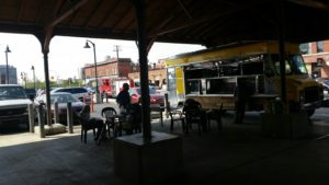 A Food Truck at Eastern Market - Detroit