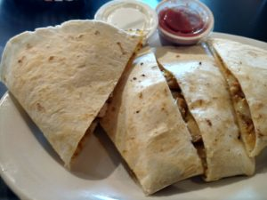 Chatter's Chicken Quesadilla